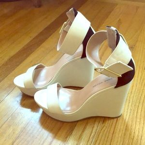 White wedges sole society